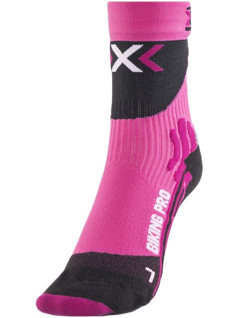 X-Socks Biking Pro Socks Women Fuxia/Black